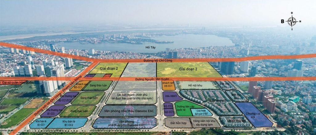 Quy hoạch khu đô thị StarLake Tây Hồ Tây