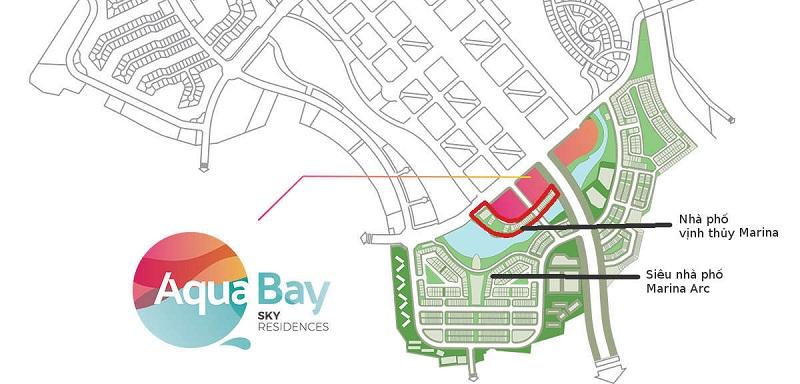 Quy hoạch Khu nhà phố quảng trường Marina Ecopark