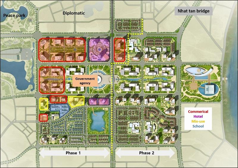 Quy hoạch phân khu khu đô thị StarLake Tây Hồ Tây