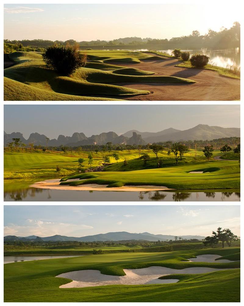 Sân Golf dự án Wyndham Sky Lake Chương Mỹ Villas & Resort