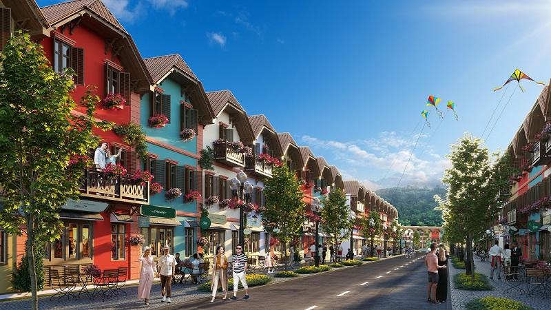 Shophouse dự án đất nền La Viena Valley Đà Bắc - Hòa Bình