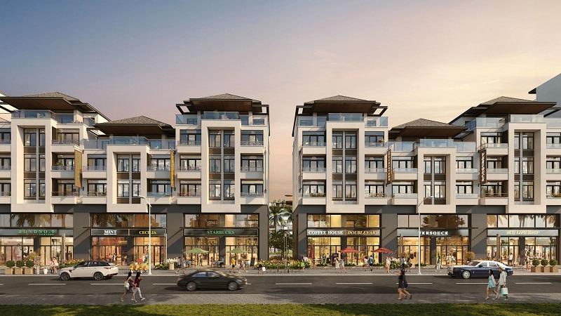 Shophouse dự án L' Aurora Phú Yên