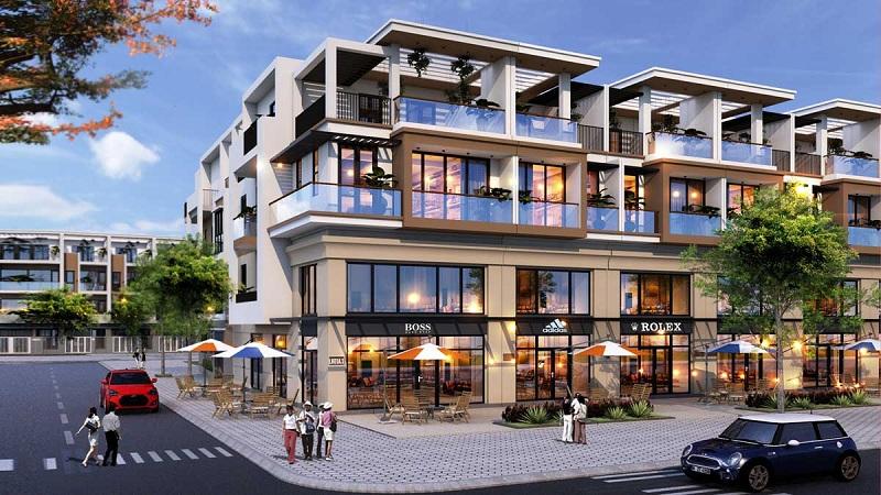 Shophouse dự án TNR Stars Cổ Đam - Bỉm Sơn - Thanh Hóa