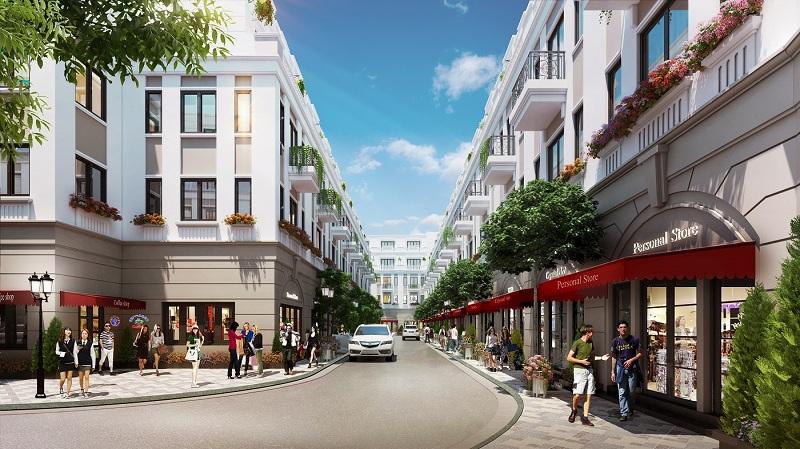 Shophouse dự án Vinhomes Dream City Văn Giang - Hưng Yên
