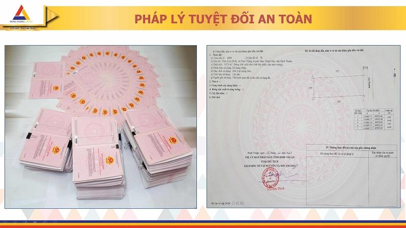 Sổ đỏ đất nền Nam An Eco Town Hàm Thuận - Hưng Vượng - Phan Thiết