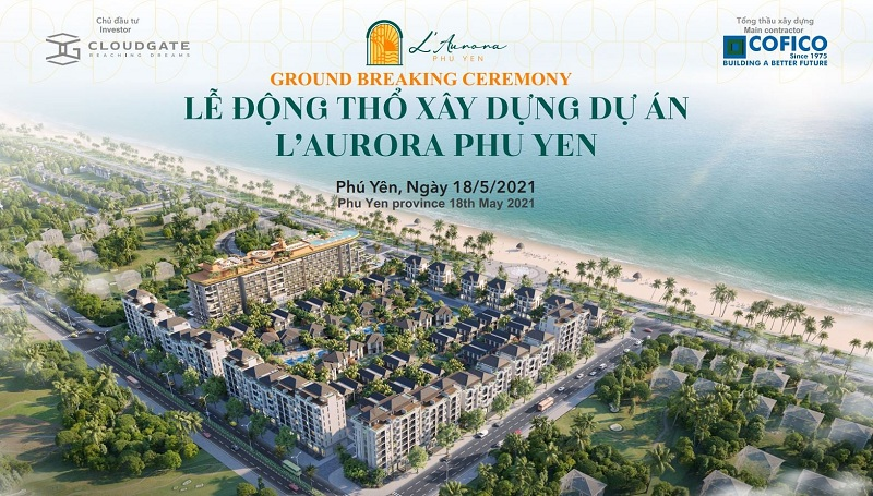 Sự kiện lễ động thổ dự án L' Aurora Phú Yên