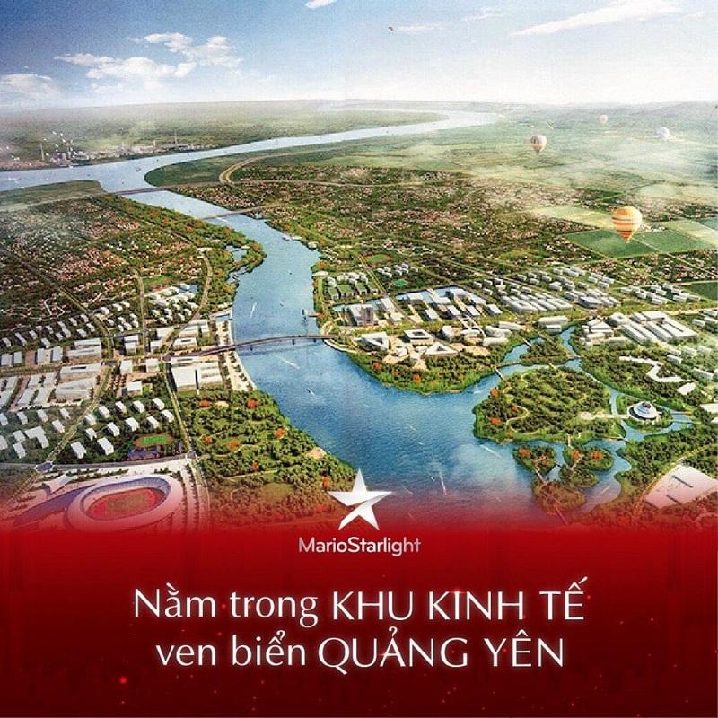 Tiềm năng khu kinh tế biển dự án Mario Starlight Xuân Lãm - Trưng Vương - Uông Bí