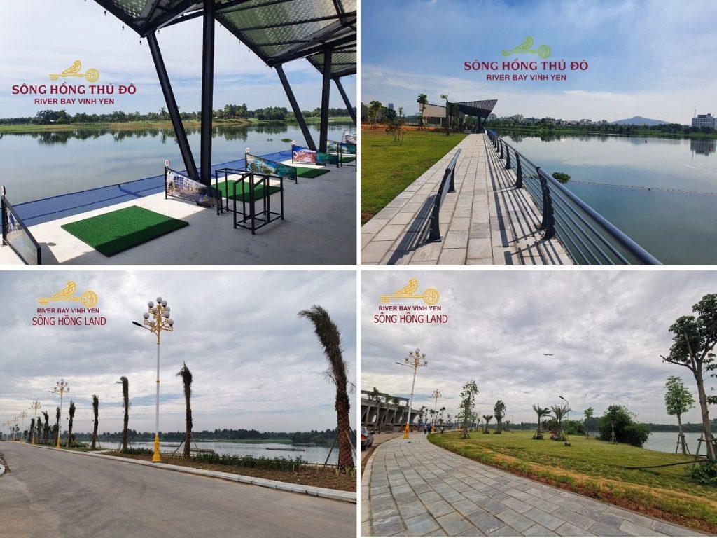 Tiến độ thực tế 2 dự án River Bay Vĩnh Yên - Bắc Đầm Vạc