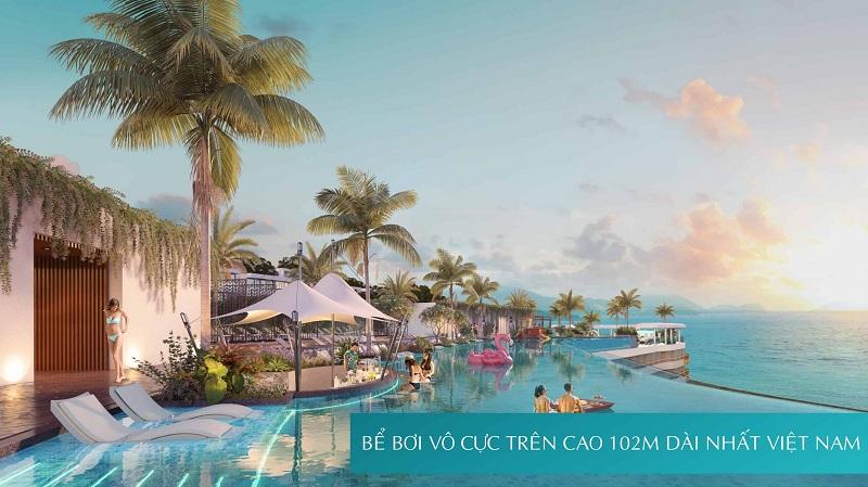 Tiện ích bể bơi dự án căn hộ AnCruising Anh Nguyễn An Viên - Nha Trang