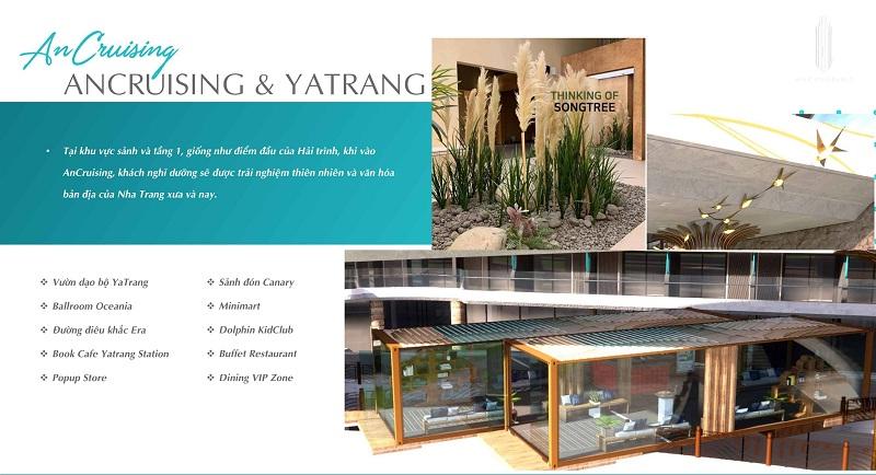 Tiện ích dự án căn hộ AnCruising Anh Nguyễn An Viên - Nha Trang