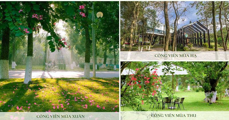 Tiện ích công viên phân khu Spring Valley 1C Ecopark - Thung Lũng Mùa Xuân
