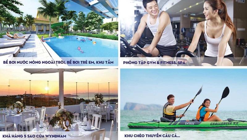 Tiện ích dự án Wyndham Sky Lake Chương Mỹ Villas & Resort