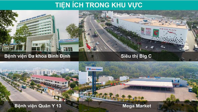 Tiện ích ngoại khu 1 dự án Hải Giang Merry Land Quy Nhơn - Hưng Thịnh Corp