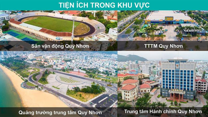 Tiện ích ngoại khu 2 dự án Hải Giang Merry Land Quy Nhơn - Hưng Thịnh Corp
