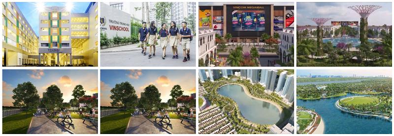 Tiện ích dự án Vinhomes Dream City Văn Giang - Hưng Yên