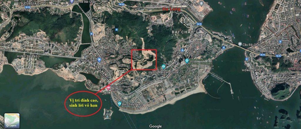 Thế phong thủy tựa sơn nghênh thủy của dự án Hạ Long Star Bãi Cháy - Quảng Ninh