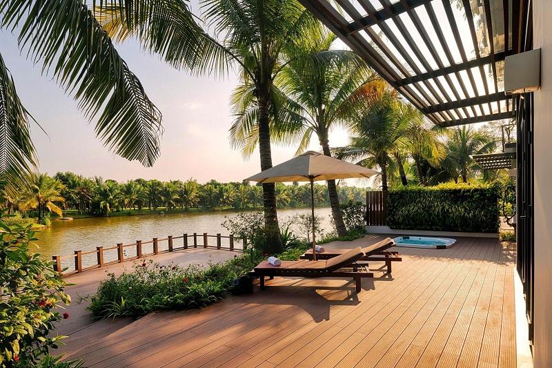 Ảnh thực tế 2 biệt thự mẫu đảo lớn Ecopark Sofitel Residences Villas