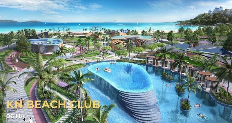 Beach Club dự án ParaSol KN Paradise Cam Ranh Khánh Hòa