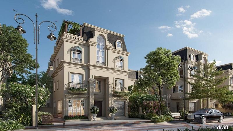 Biệt thự đơn lập dự án The Sapphire Mansions Hạ Long - Doji