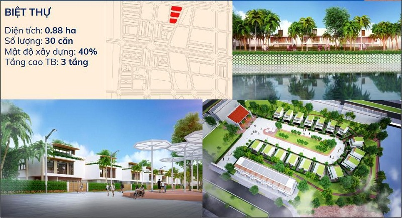 Biệt thự dự án Kim Đô Policity Yên Phong - Bắc Ninh