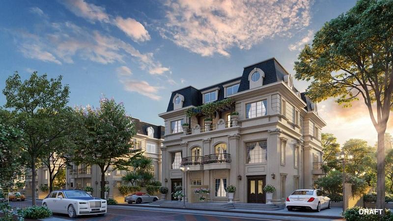Biệt thự song lập dự án The Sapphire Mansions Hạ Long - Doji