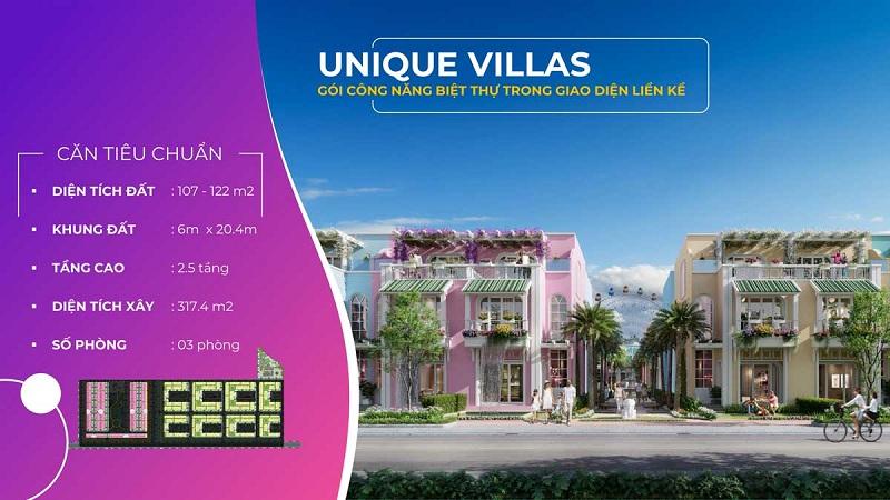 Biệt thự Unique Villas dự án ParaSol KN Paradise Cam Ranh Khánh Hòa