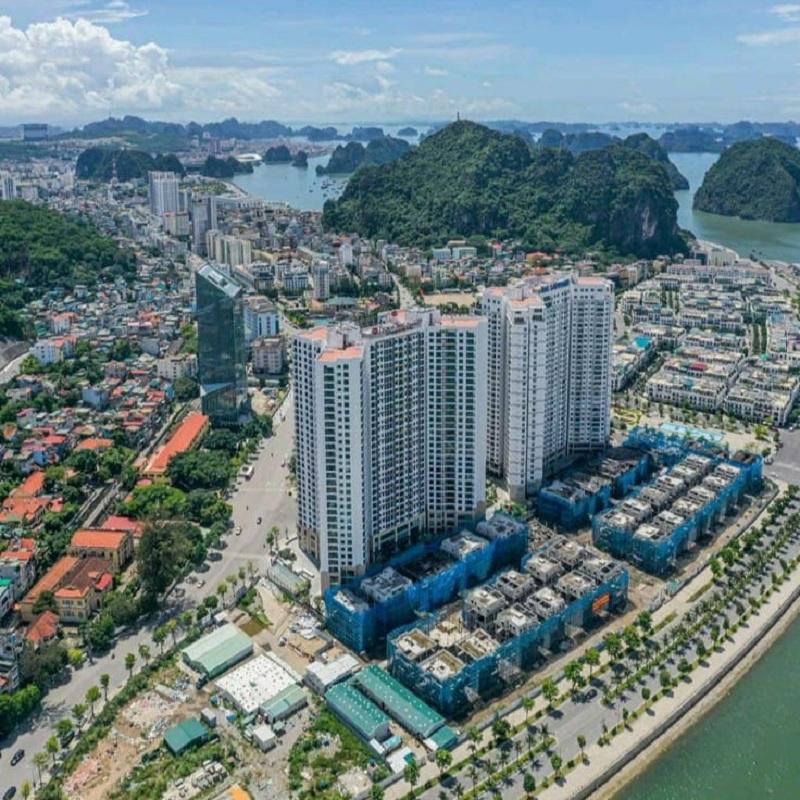 Flycam thực tế dự án The Sapphire Mansions Hạ Long - Doji