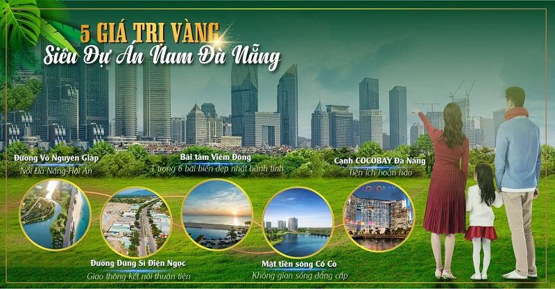 Giá trị vàng đất nền Indochina Riverside Complex Nam Đà Nẵng
