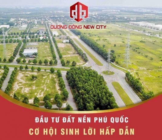 Hạ tầng dự án Dương Đông New City Phú Quốc