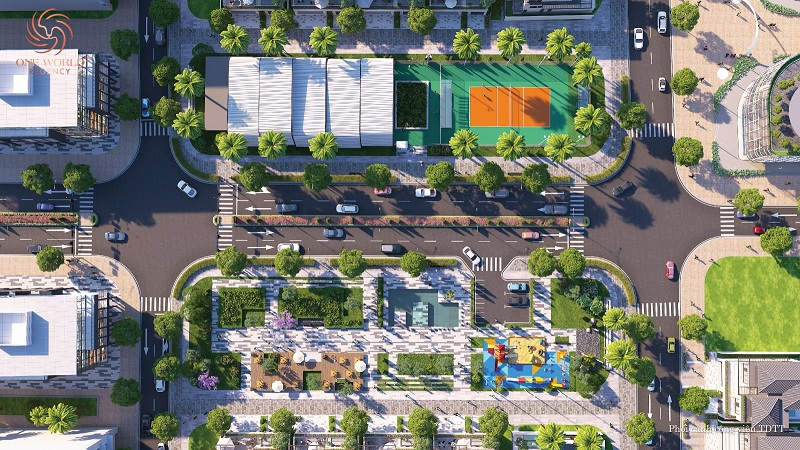 Hạ tầng giao thông dự án biệt thự Regal Victoria Quảng Nam