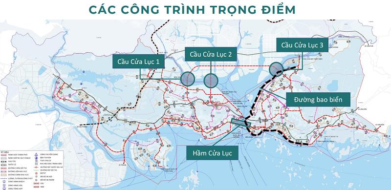 Hạ tầng giao thông dự án The Astro Hạ Long Bay - Bãi Cháy