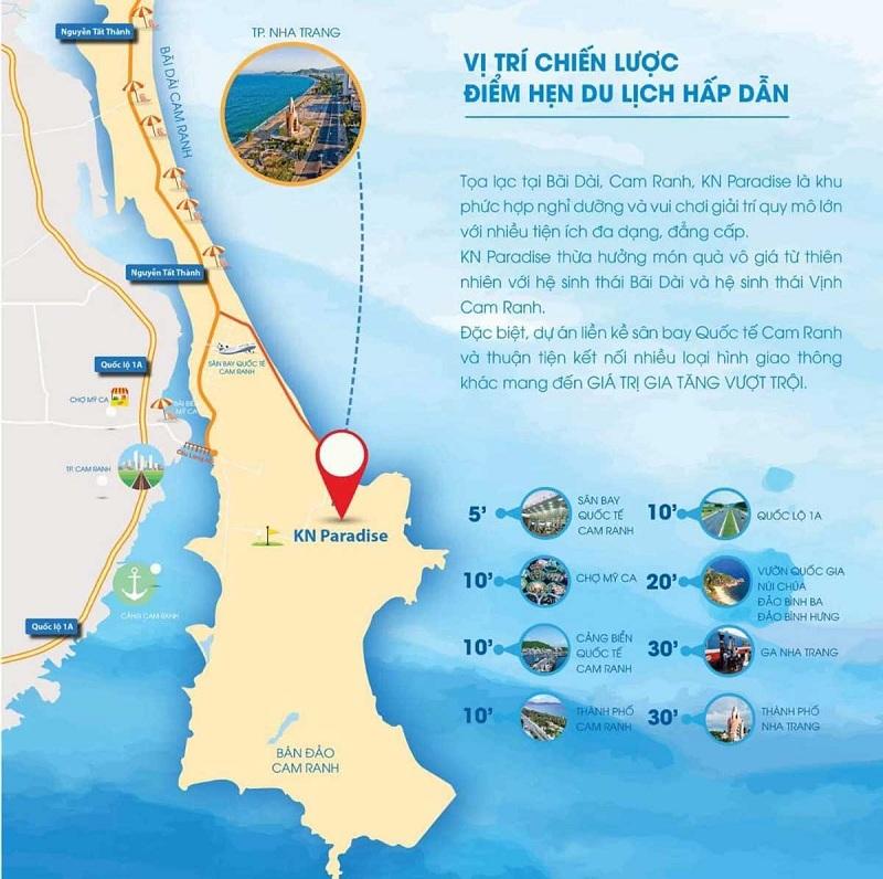 Kết nối dự án ParaSol KN Paradise Cam Ranh Khánh Hòa