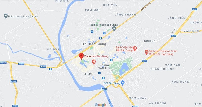 Kết nối dự án Vinhomes Sky Park Bắc Giang