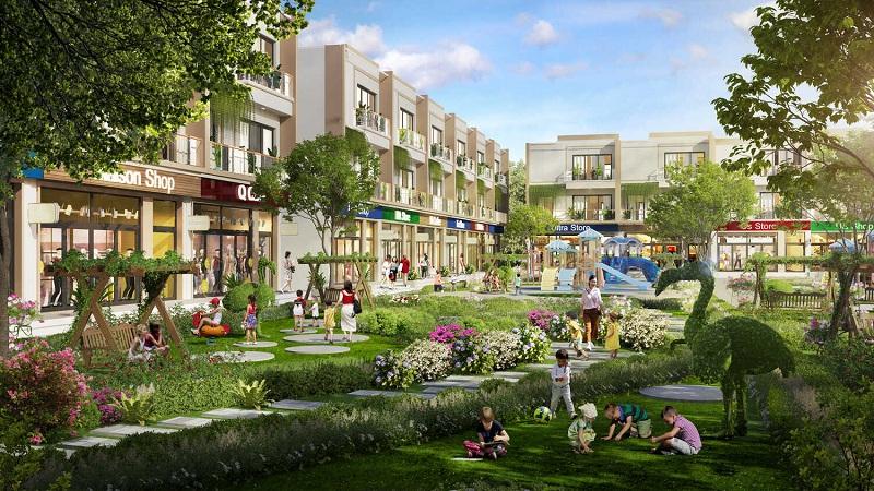Không gian xanh đất nền Indochina Riverside Complex Nam Đà Nẵng