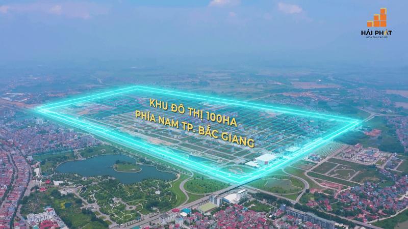 Dự án HP Intermix Bắc Giang trong khu đô thị 100ha