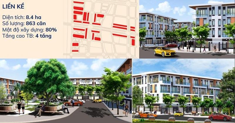 Liền kề dự án Kim Đô Policity Yên Phong - Bắc Ninh