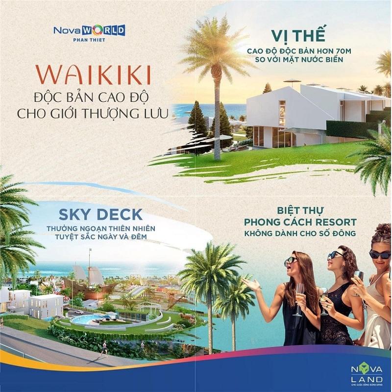 Mở bán dự án biệt thự Waikiki Novaworld Phan Thiết