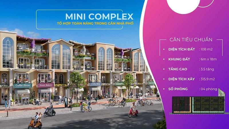 Nhà phố liền kề Mini Complex dự án ParaSol KN Paradise Cam Ranh Khánh Hòa