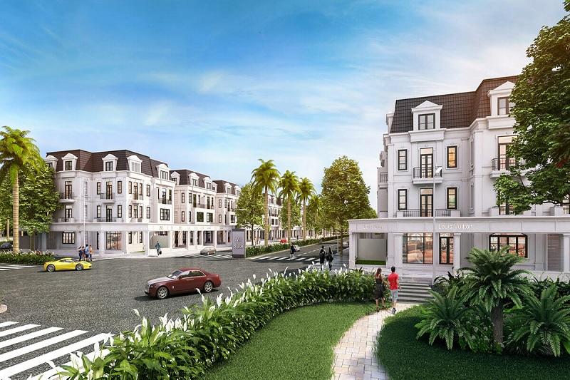 Nội khu dự án biệt thự Will State khu B Dương Nội - Tập đoàn Nam Cường
