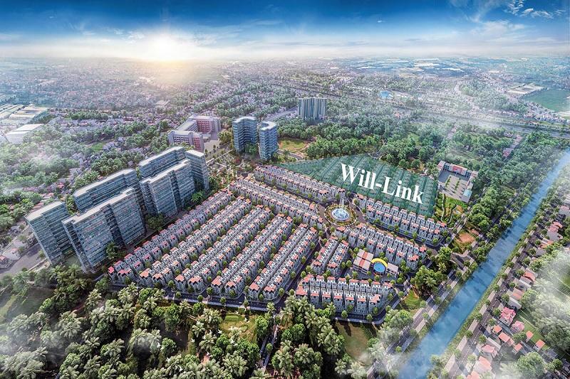 Phân khu Will Link dự án biệt thự Will State khu B Dương Nội - Tập đoàn Nam Cường