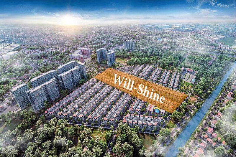Phân khu Will Shine dự án biệt thự Will State khu B Dương Nội - Tập đoàn Nam Cường