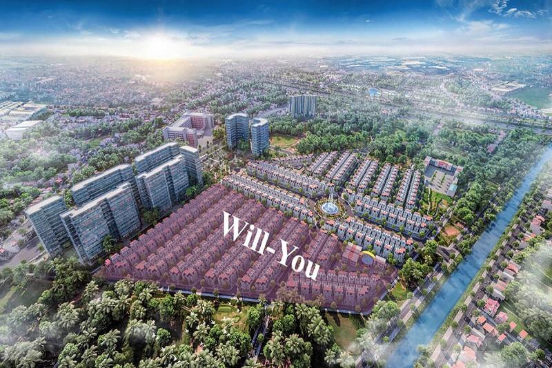 Phân khu Will You dự án biệt thự Will State khu B Dương Nội - Tập đoàn Nam Cường