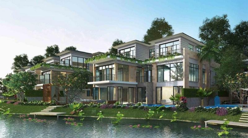 Phối cảnh 1 biệt thự đảo lớn Ecopark Sofitel Residences Villas