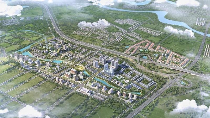 Phối cảnh 1 dự án Kim Đô Policity Yên Phong - Bắc Ninh