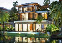 Phối cảnh 2 biệt thự đảo lớn Ecopark Sofitel Residences Villas