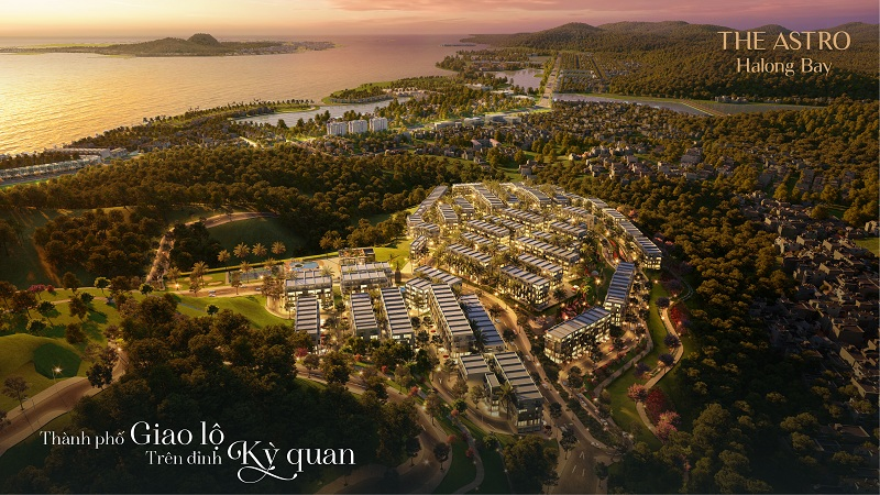 Phối cảnh 2 dự án The Astro Hạ Long Bay - Bãi Cháy