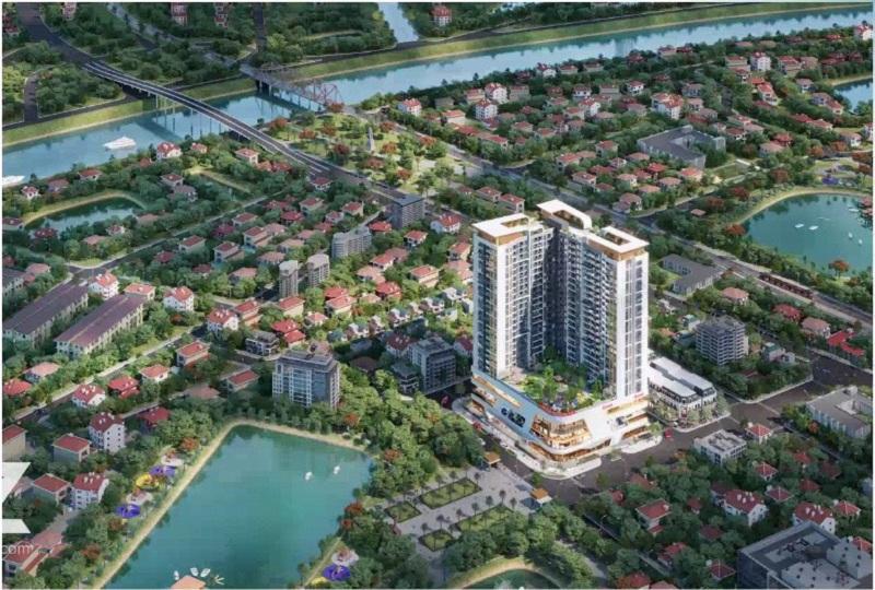Phối cảnh 2 dự án Vinhomes Sky Park Bắc Giang