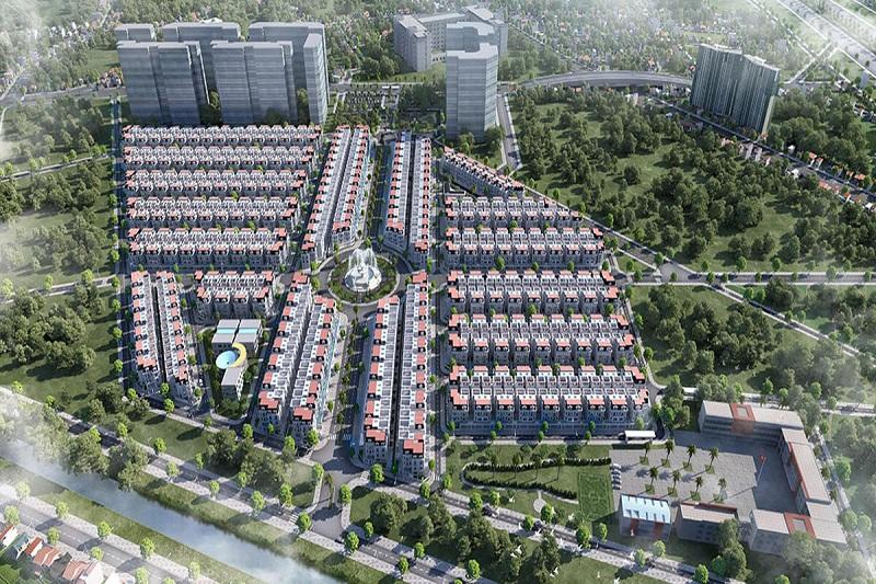 Phối cảnh 2 dự án biệt thự Will State khu B Dương Nội - Tập đoàn Nam Cường