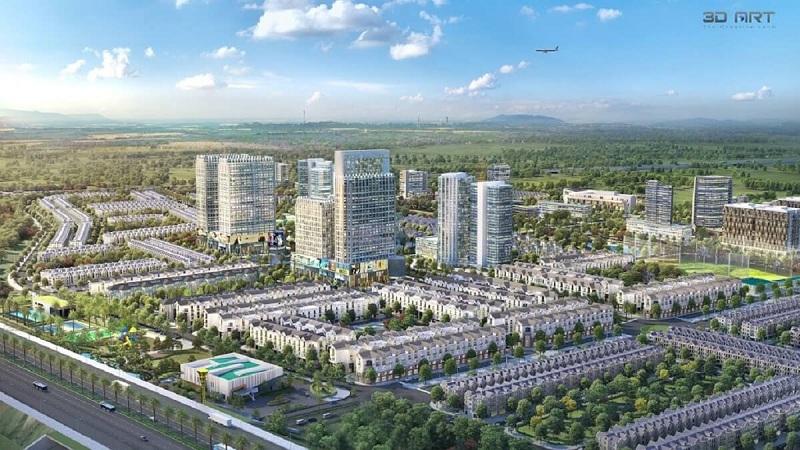 Phối cảnh 3 dự án Kim Đô Policity Yên Phong - Bắc Ninh