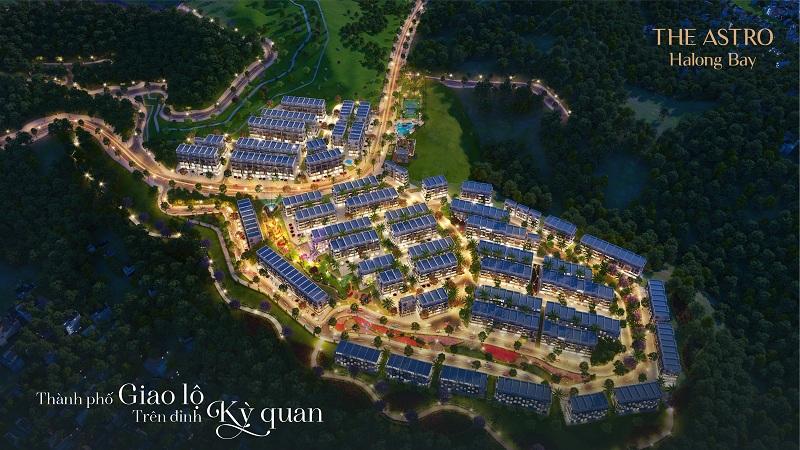 Phối cảnh 3 dự án The Astro Hạ Long Bay - Bãi Cháy